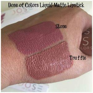 🆕2x Dose of colors liquid matte lipstick